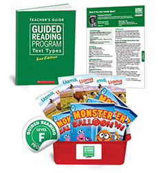Guided Reading Text Types: Level F