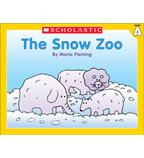Little Leveled Readers: The Snow Zoo (Level A)