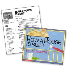 How a House is Built - Literacy Fun Pack Express