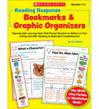 Reading Response Bookmarks & Graphic Organizers