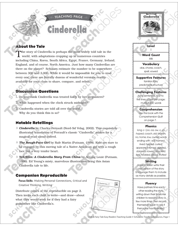examples of literary adaptions of cinderellas fairy tale story Versions and adaptations of fairy tales cinderella example in fairy tales where the literary framework to imprint in the story.
