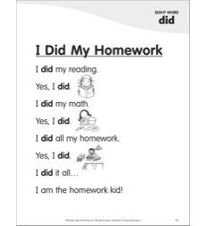 all my homework