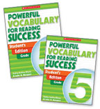 Powerful Vocabulary for Reading Success: 10 Student Workbooks + TE Grade 5