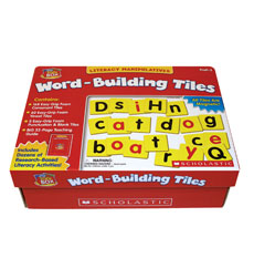 Little Red Tool Box: Word–Building Tiles