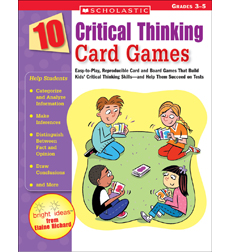 board games that promote critical thinking Many players may fail to make these breakthroughs on their own perhaps, then, kids will reap the most cognitive benefits when board games are part of general program for teaching math, logic, and critical thinking skills board games + metacognition = better critical thinking by all means, let kids play board games because they are fun.