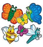Bees, Bugs & Butterflies Accent Punch-Outs