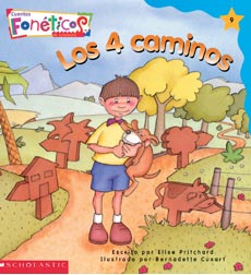 Cuentos Fonéticos™ (Spanish Phonics Readers): Los 4 caminos