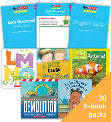 My Books Every Day Let's Discover! Grade PreK Classroom Set