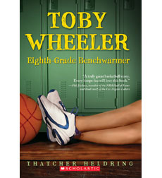 Toby Wheeler Eighth-Grade Benchwarmer 9780545151061