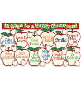 Happy Classroom Apples! Bulletin Board