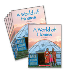 Guided Reading Set: Level F - A World of Homes