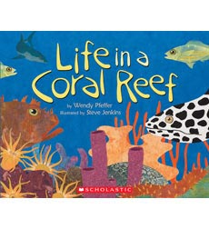 Life in a Coral Reef 9780545357562