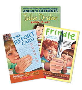 Andrew Clements Grades 3-5