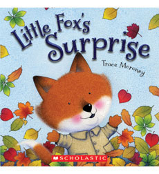 Trace Moroney's Forest Friends: Fox in Fall