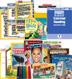 Comprehensive Summer Reading Solution Grade 2 Nonfiction (5 Books)