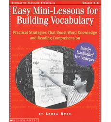 Easy Mini-Lessons for Building Vocabulary