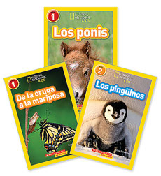 National Geographic Readers: National Geographic Readers Spanish Collection Levels 1-3