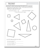 What is Square? - Activity Sheet