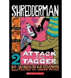 Shredderman: Attack of the Tagger