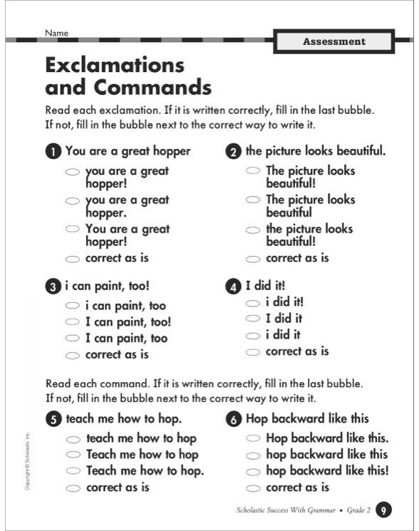 Scholastic Success with Grammar Grade 6