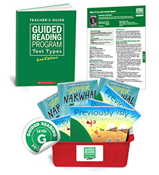 Guided Reading Text Types: Level G