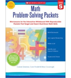 Math Problem-Solving Packets: Grade 5