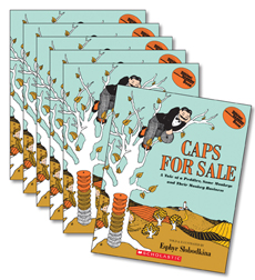 Guided Reading Set: Level K – Caps for Sale, A Tale of a Peddler, Some Monkeys, and Their Monkey Business