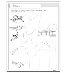 Airport - Activity Sheet 608664