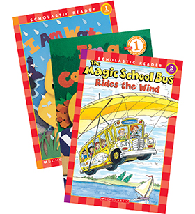 Scholastic Readers Science Levels 1–3
