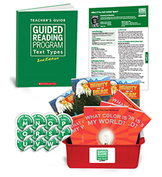 Guided Reading Text Types: Grade 5 Levels, Q–W