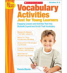 Vocabulary Activities Just for Young Learners 9780545194365