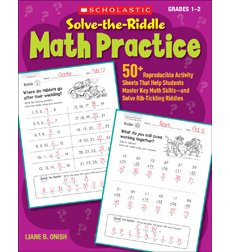 Solve-the-Riddle Math Practice