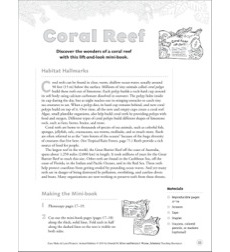 Coral Reef (Lift-and-Look Mini-Book): Animal Habitats