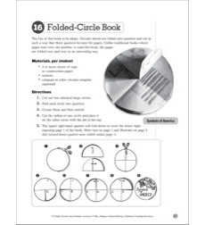 Folded-Circle Book: Social Studies Bookmaking Project