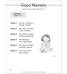 Back-to-School Mini-Play: Good Manners: Back-to-School Mini-Play