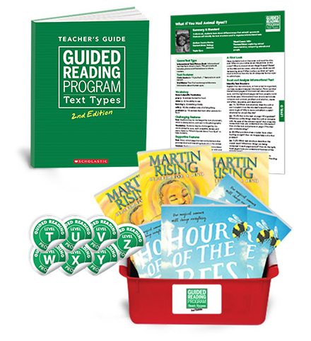 Guided Reading Text Types 2nd Edition Grade 6 (Levels T-Z)