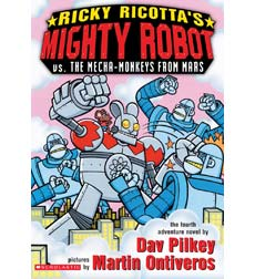 Ricky Ricotta: Ricky Ricotta's Mighty Robot vs. the Mecha-Monkeys from Mars