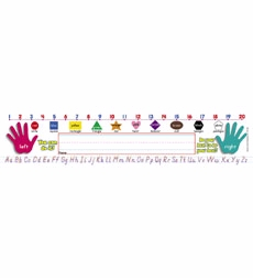 Primary Grades (Modern Manuscript) Super School Tool Name Plates