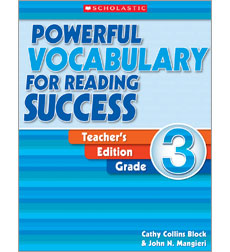 Powerful Vocabulary for Reading Success: Teacher Edition, Grade 3