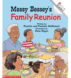 Rookie Reader®—Level C: Messy Bessey's Family Reunion