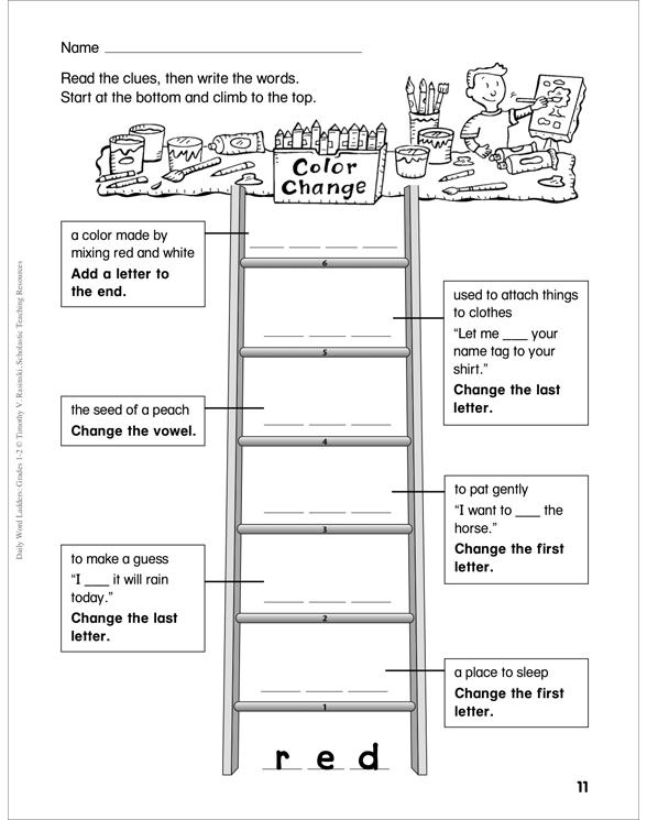 Daily Word Ladders Grades 1 2 By Timothy V Rasinski