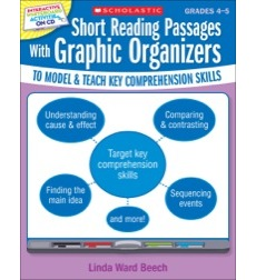 Short Reading Passages With Graphic Organizers to Model and Teach Key Comprehension Skills: Grades 4–5