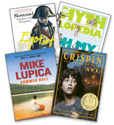 Best Sellers Take Home Book Pack Fiction and Nonfiction Grade 7