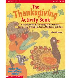 the thanksgiving activity book by deborah schecter
