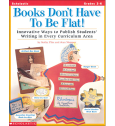 Books Don't Have To Be Flat!