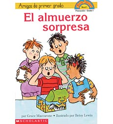 Hello Reader!® Level 1—First-Grade Friends: El almuerzo sorpresa