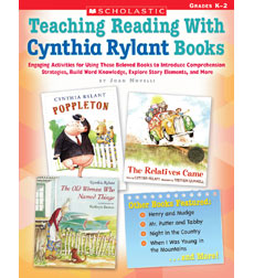 Teaching Reading With Cynthia Rylant Books