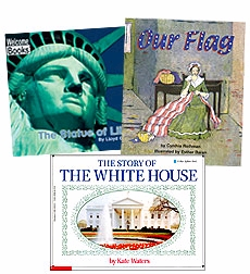 Scholastic Trio Individual Theme Unit Set 3, Social Studies - Our Country, Grades 3-4