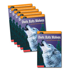 Guided Reading Set: Level M – Owls, Bats, Wolves and Other Nocturnal Animals