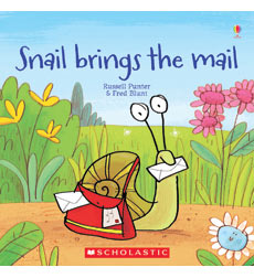 Usborne Books: Snail Brings the Mail